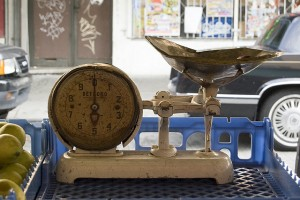 Weighed, courtesy of Lindsey B/Creative Commons 2.0