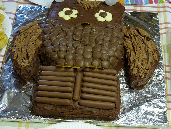 Image Result For Owl Birthday Cake Bbc